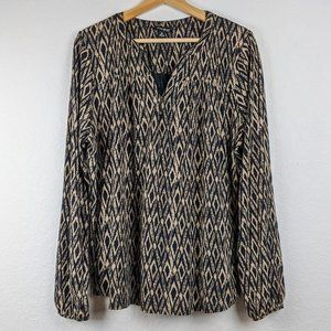 Lucky Brand Boho Blouse XL